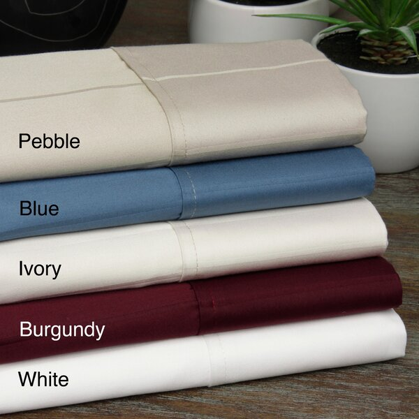 Pin-Stripe 620 Thread Count 100% Cotton Sheet Set by Aspire Linens